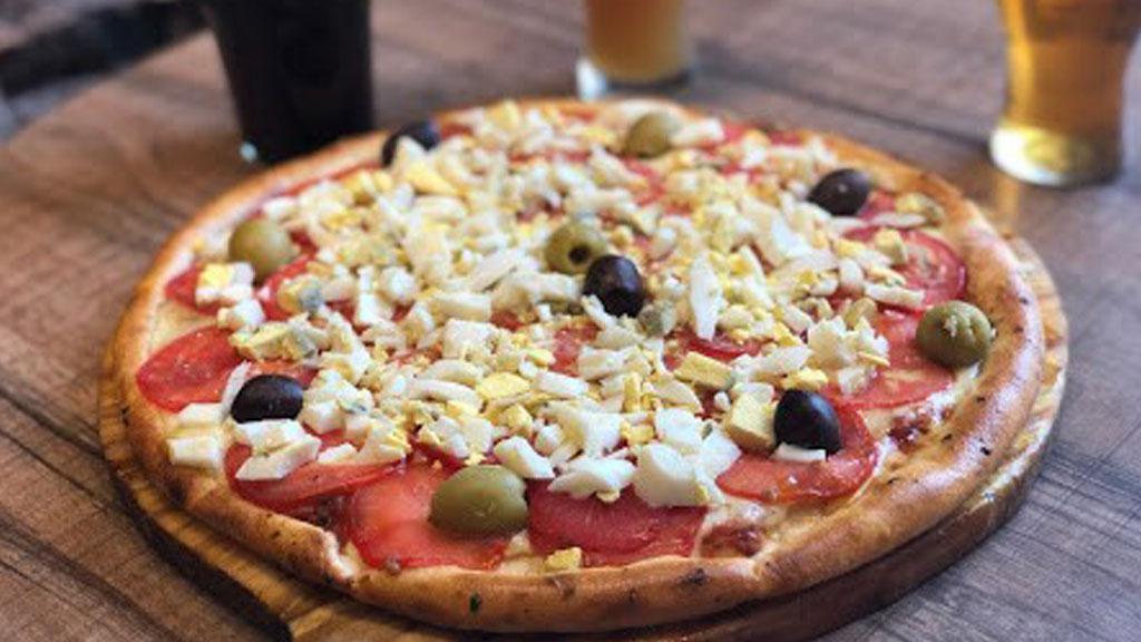 Pizza de primavera